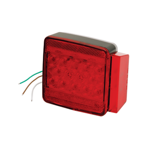 """WESBAR UNDER 80"""" SUBMERSIBLE LED 6-FUNCTION RIGHT/CURBSIDE TRAILER LIGHT"""