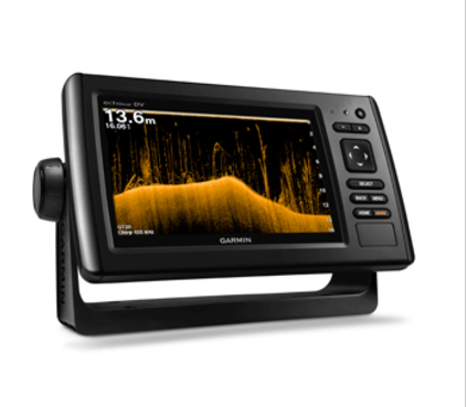 GARMIN ECHOMAP™ CHIRP 72CV W/WORLDWIDE BASE MAP W/O TRANSDUCER
