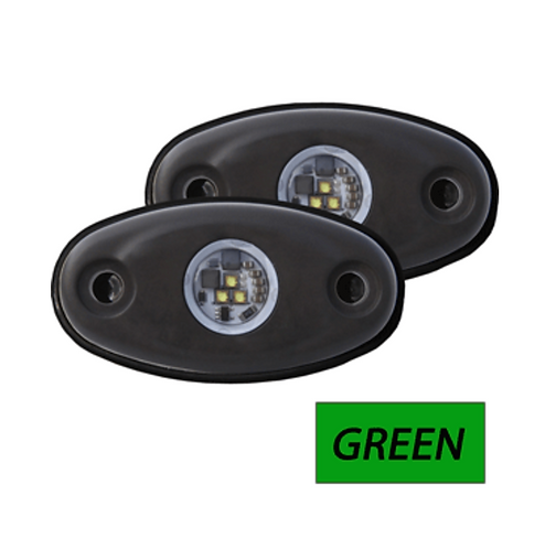 RIGID INDUSTRIES A-SERIES HIGH STRENGTH TRIPLEX™ COATING - HIGH POWER LEDS - GRE