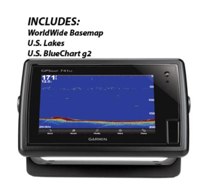 GARMIN GPSMAP® 741XS GPS CHART PLOTTER/SOUNDER COMBO