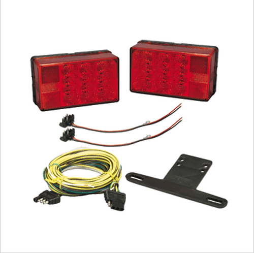 "WESBAR 4"" X 6"" LED TRAILER LIGHT KIT"