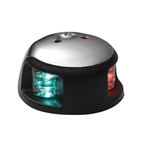 ATTWOOD 3500 SERIES 1-MILE LED BI-COLOR RED/GREEN COMBO SIDELIGHT - 12V