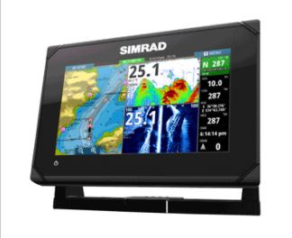 SIMRAD GO7 XSE CHART PLOTTER/FISH FINDER W/O TRANSDUCER