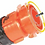 Thumbnail: Camco RhinoFLEX Swivel Lug with Locking Ring