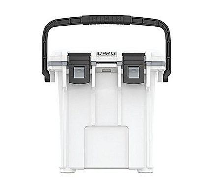 20 QT ELITE COOLER - WHITE WITH GRAY TRIM