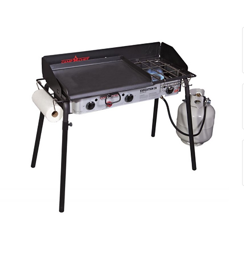 CAMP CHEF EXPEDITION 3X THREE-BURNER STOVE