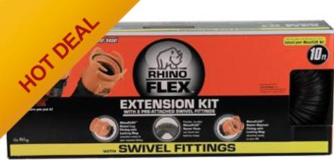 RHINOFLEX SEWER 10' EXTENSION