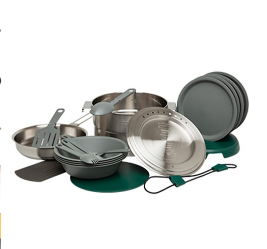 ADVENTURE BASE CAMP COOK SET -- 4X