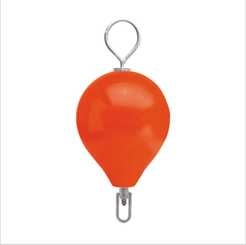 "POLYFORM MOORING BUOY W/SS 13.5"" DIAMETER - RED"