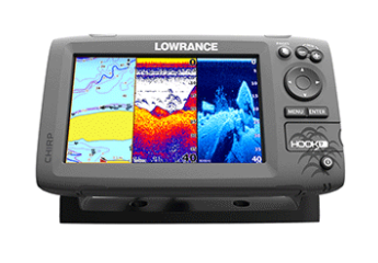LOWRANCE HOOK-7 FISH FINDER/CHART PLOTTER COMBO W/NO TRANSDUCER