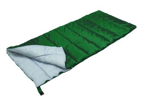 Stansport Sleeping Bag, Forest Green