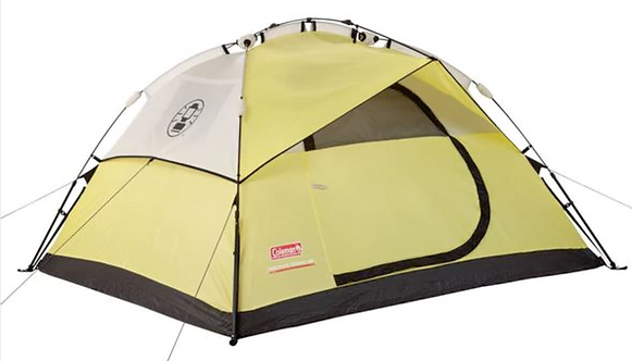 COLEMAN 4 PERSON DOME TENT INST.