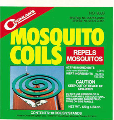 Coghlan's Mosquito Coils - 10ct
