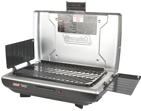 COLEMAN PERFECT FLOW™ CAMP PROPANE GRILL+