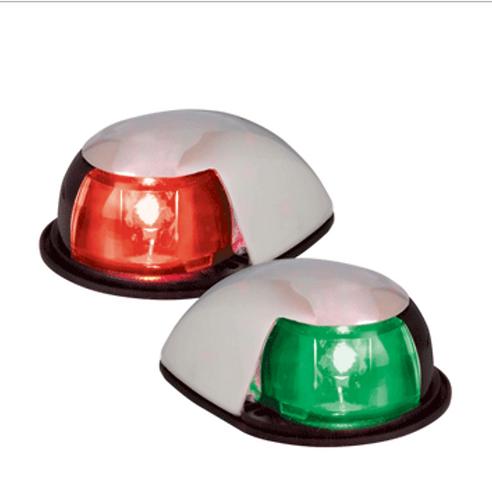 PERKO LED HORIZONTAL MOUNT SIDE LIGHT - RED/GREEN