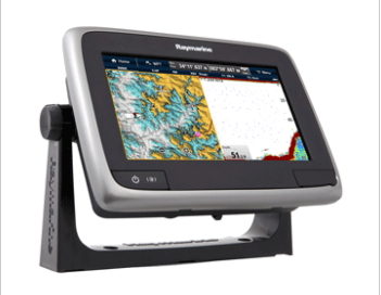 "RAYMARINE A77 WI-FI 7"" MFD TOUCHSCREEN W/CLEARPULSE™ DIGITAL SONAR - LIGHTHOUSE"