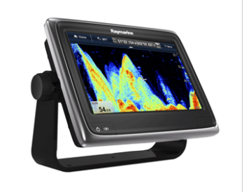 "RAYMARINE A97 9"" MFD CHARTPLOTTER/FISHFINDER W/WI-FI & BLUETOOTH - US LAKE AND C"