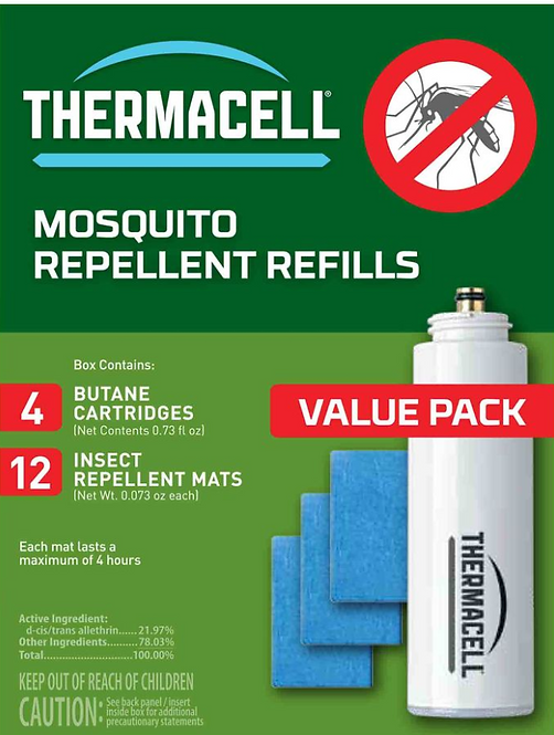 Thermacell Mosquito Repellent Refill Value Pack 48 Hour