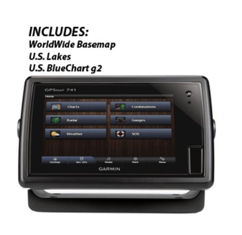 GARMIN GPSMAP® 741 CHART PLOTTER