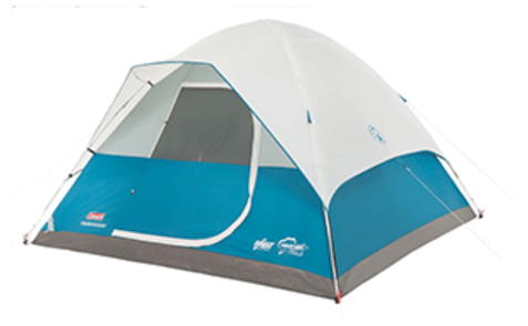 COLEMAN LONGS PEAK™ FAST PITCH™ DOME TENT - 6-PERSON