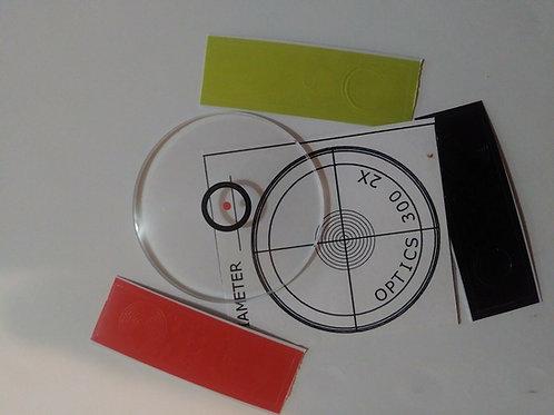 Archery - Circles And Dots - Black/Orange/Yellow