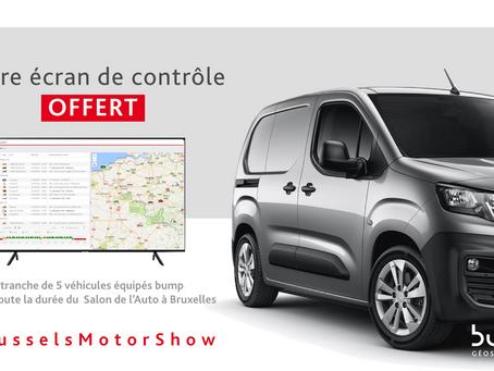 #BrusselsMotorShow : c'est le moment d'équiper vos véhicules !