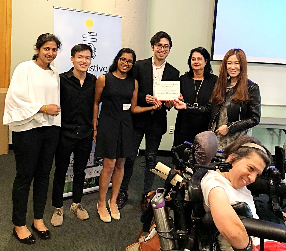 First Place - Assistive Technology Hackathon