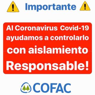 ANTE EL CORONAVIRUS