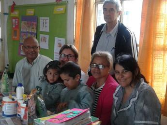 Dirigentes de Tacuarembó visitaron escuelita rural