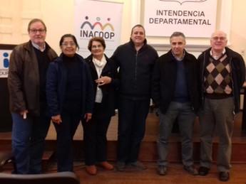 Firma de Convenio en Intendencia de Durazno e INACOOP