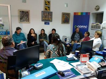 Segunda reunión con socios y amigos en Durazno