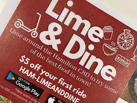 Hamilton's Lime and Dine food guide kicks off