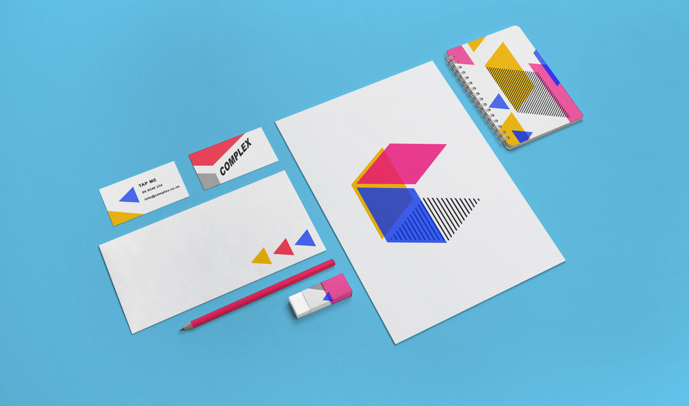 Complex Brand guidelines by Matthias Bucher