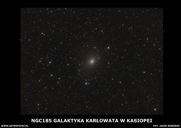 Dwarf galaxy in Cassiopeia