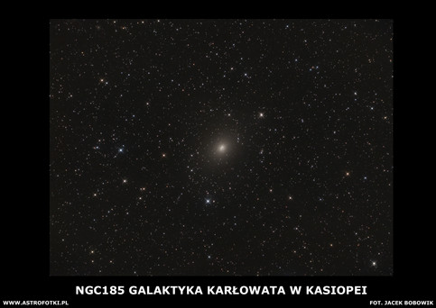 Dwarf galaxy in Cassiopeia