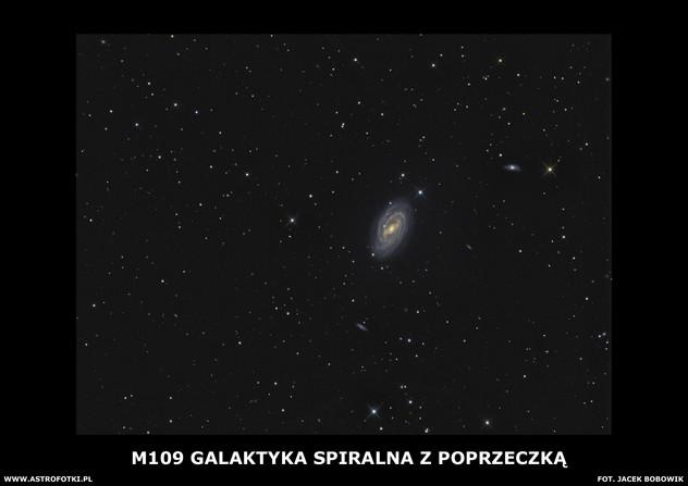 The barred spiral galaxy in Ursa Major