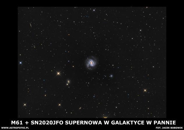 Supernova in Virgo