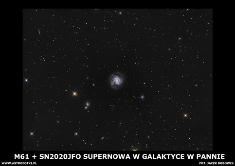 Supernova in Virgo