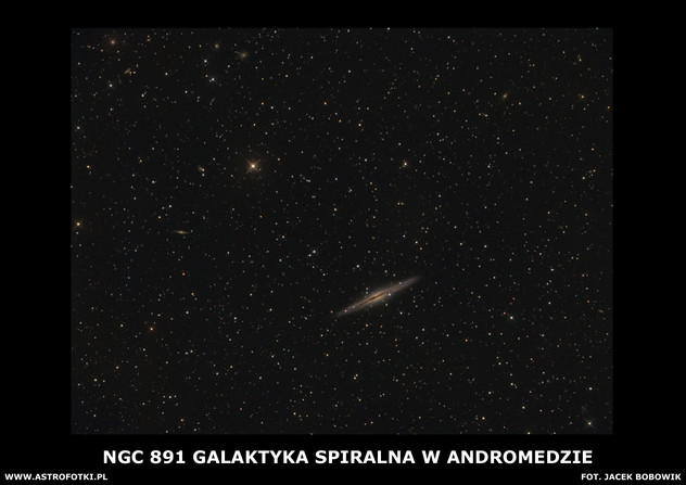 Spiral galaxy in the constellation Andromeda