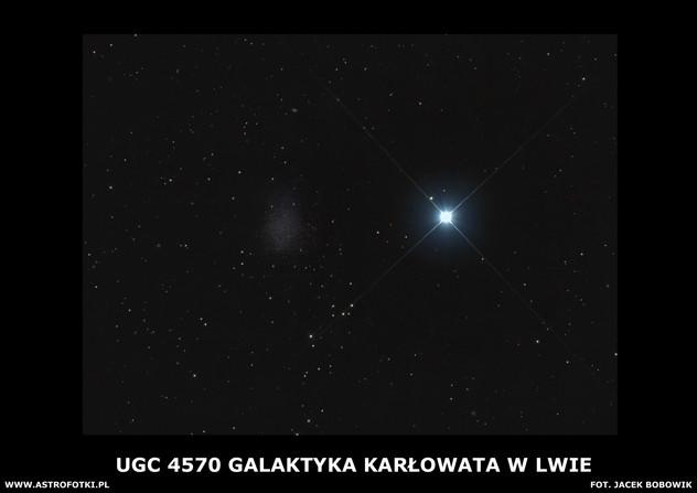 Dwarf galaxy in Leo
