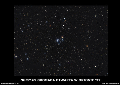 Open Cluster in Orion