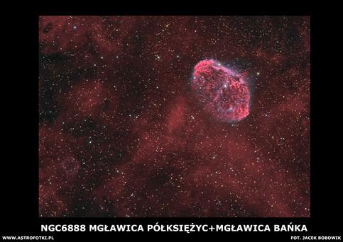 Cescent Nebula