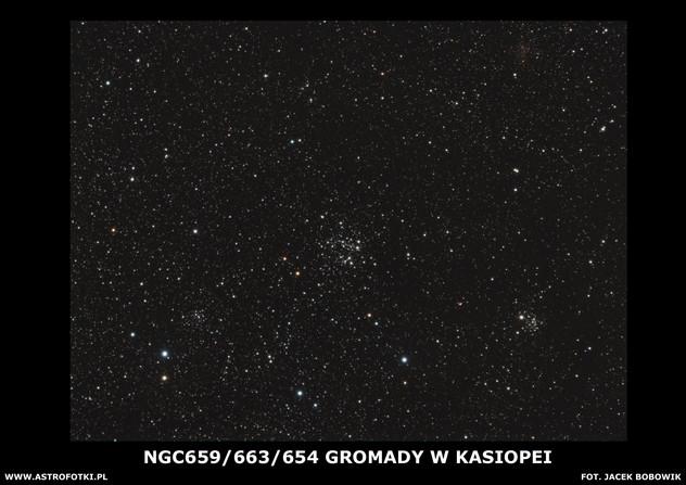 Clusters in Casiopea