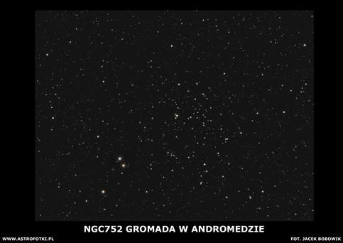 Cluster in Andromeda