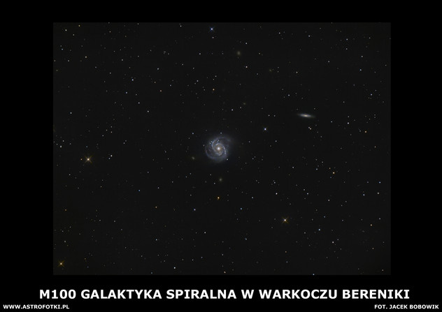 Spiral galaxy in Coma Berenices