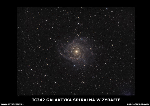 Spiral galaxy in the Camelopardalis