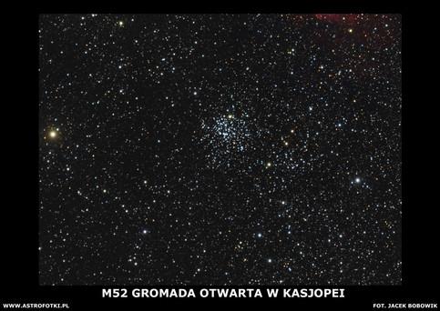 Open Cluster in Casiopea