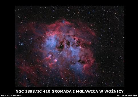 Nebula in the Auriga
