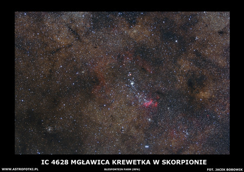 Nebulae in Scorpio