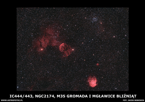 Nebulae in Gemini